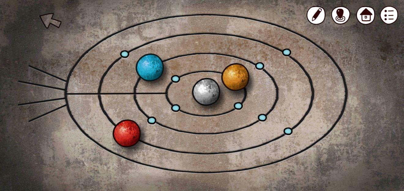 迷失岛3宇宙的尘埃四色球攻略