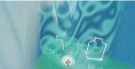 Sky光遇云野隐藏地图怎么解锁 Sky光遇云野左边缝隙图解锁攻略