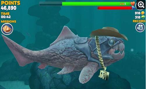 饥饿的鲨鱼进化中超强捕杀邓氏鱼技巧攻略