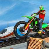 疯狂特技摩托车骑手