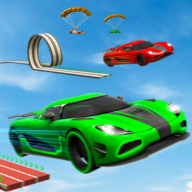 Electric Car Ramp Stunt 2020