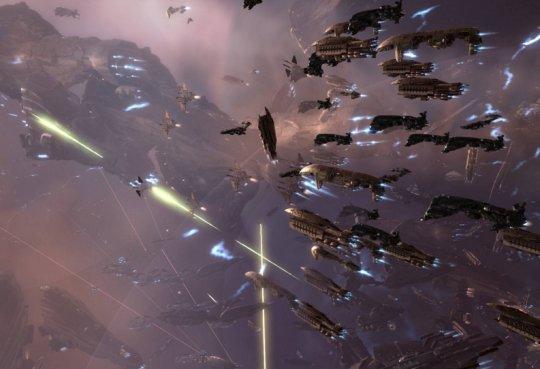 """EVE编年史:国服年度最""""搞笑""""的会战 玩家惨烈守下低安星城 隔天却拱手投敌?"""