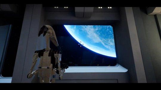 国外大神用虚幻4自制《星球大战前传》!画面令人印象深刻!