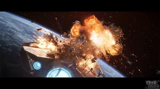 EA发布《星球大战:战机中队》全新CG短片 展示激烈空战场景