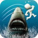 鲨鱼逃亡跳一跳