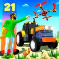 块状耕作拖拉机模拟器中文版