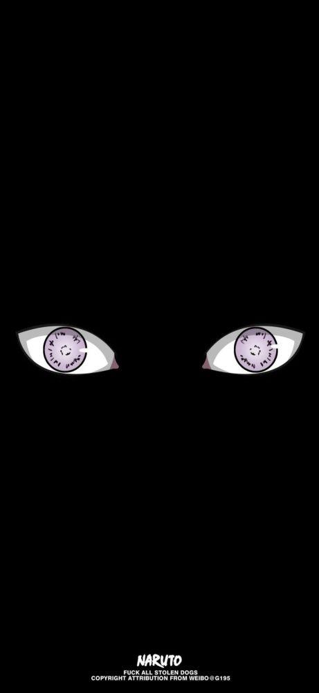 火影忍者壁纸:黑夜下的眼睛