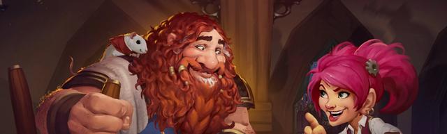 炉石传说:麻麻我在炉石里真的玩起了RPG!佣兵战纪针不戳